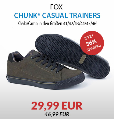 FOX Chunk® Khaki/Camo Casual Trainers