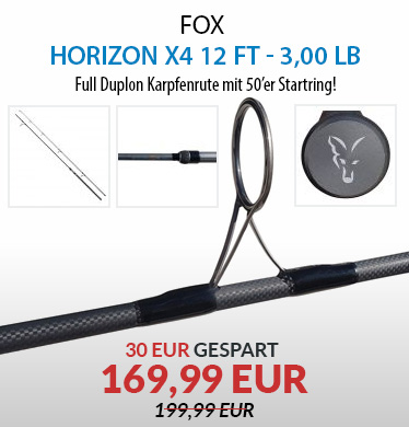 FOX Horizon X4 Full Duplon 12 ft - 3,00 lb