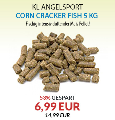 KL Angelsport Corn Cracker 8 mm - 5 kg