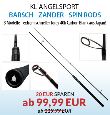 KL ANGELSPORT SPINNING RODS