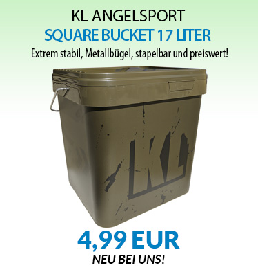 KL SQUARE BUCKET 17 LITER