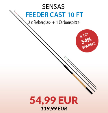 Sensas Feeder Cast 10 ft.