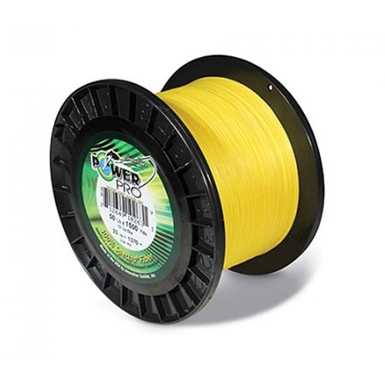 Power Pro Gelb Meterware - 0,23 mm - 15,0 kg