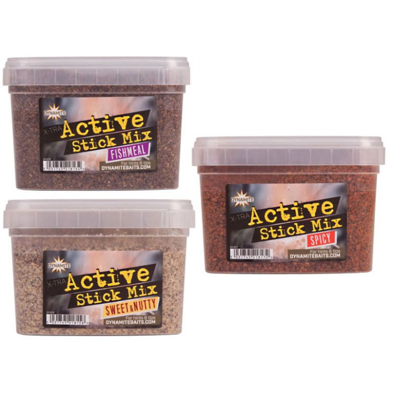 Dynamite Baits Xtra Active Stick Mix - Fishmeal