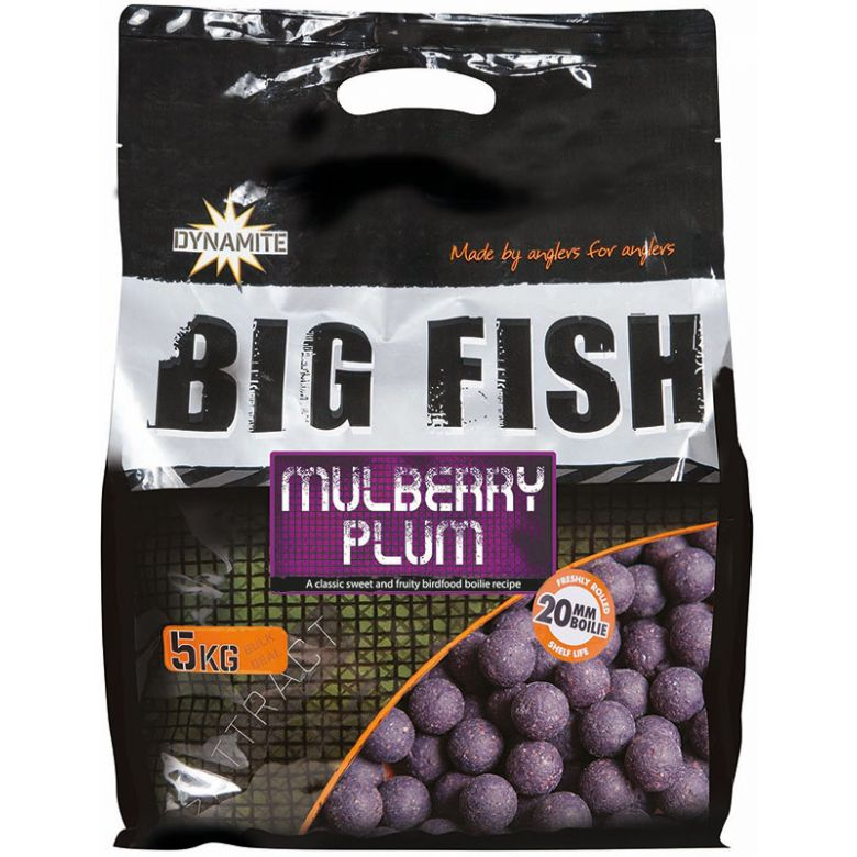 Dynamite Baits Big Fish Mulberry Plum 5 kg 20 mm