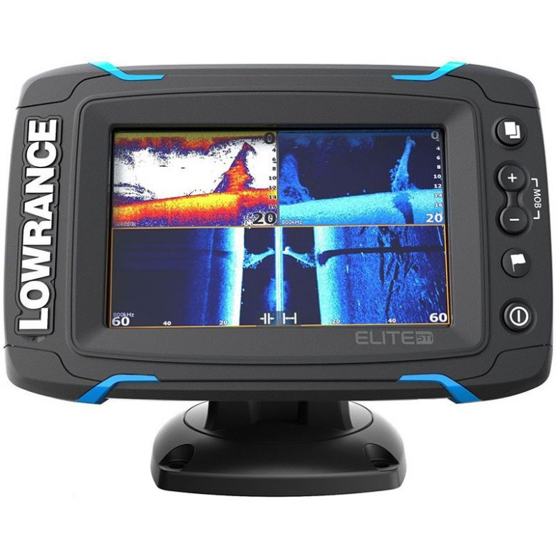 Lowrance Elite-5 TI Mid/High/TotalScan™