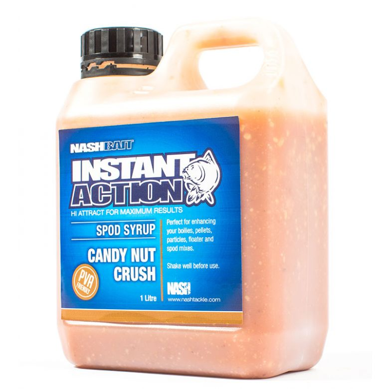 Nash Bait Instant Action Candy Nut Crush Spod Syrup