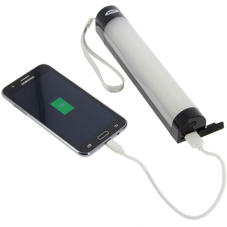 NGT Bivvy Light & Power Bank System Large