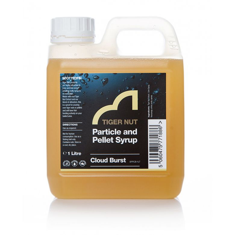 Spotted Fin Cloud Burst Particle and Pellet Syrup 1 l