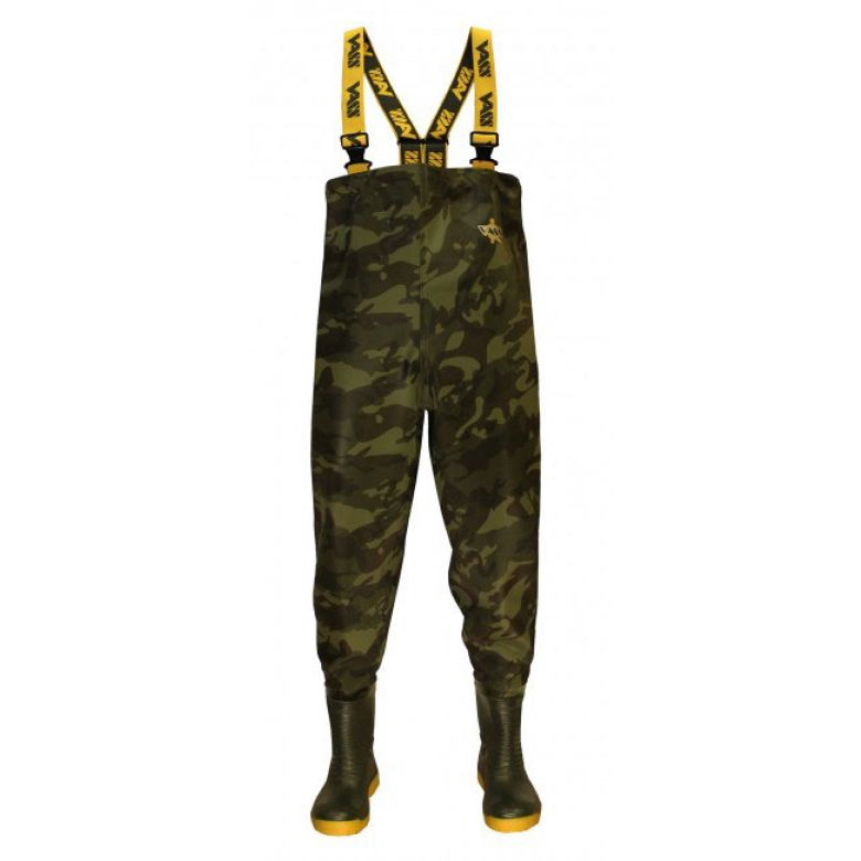 Vass-Tex 800 Camouflage Chest Wader 42