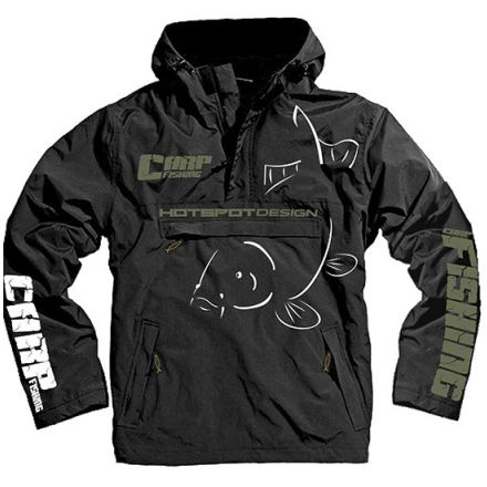 HOTSPOT Design Jacket CARPFISHING ECO - BLACK - L