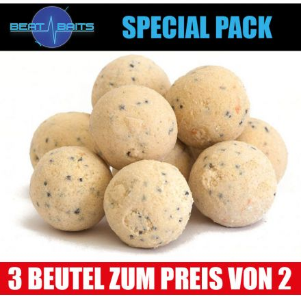 Beat Baits Special Pack White Moon Boilies 20 mm - 3x1 kg