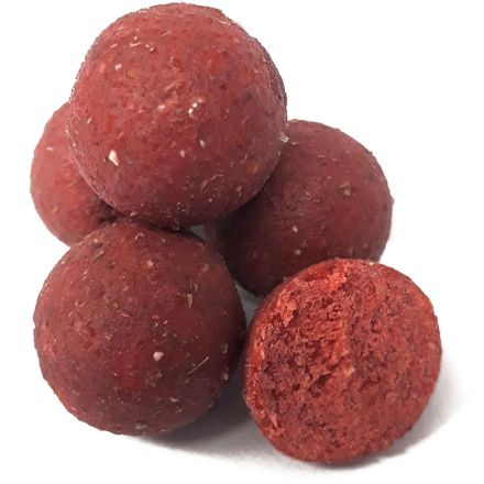 KL Angelsport Strawberry Boilies 20 mm 24 Hours 3,5 kg im Eimer