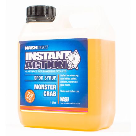 Nash Bait Instant Action Monster Crab Crush Spod Syrup