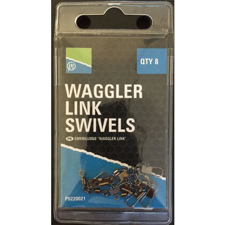 Preston Waggler Link Swivels