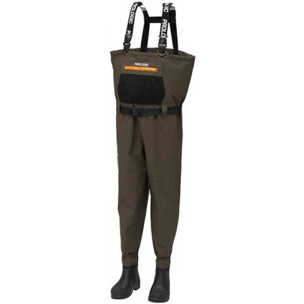 Prologic LitePro Breathable Wader W/EVA Boot Cleated 40/41