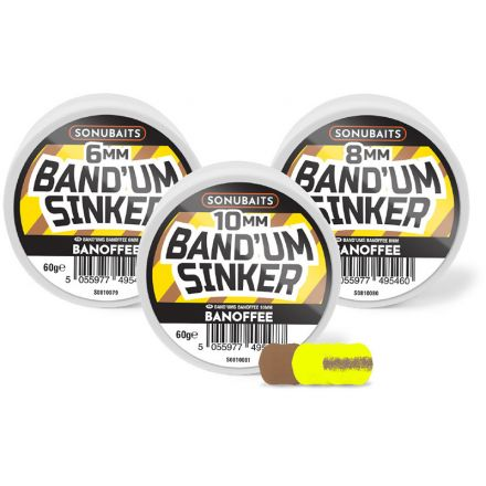Sonubaits Band`um Sinkers Banoffee 6 mm