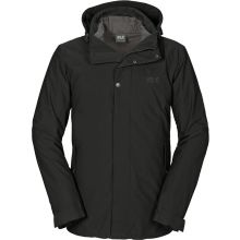 Jack Wolfskin Vernon Texapore Jacket Men Black - L