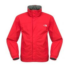 The North Face Men`s Resolve Jacket - Centennial Red - XL