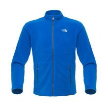 The North Face Men`s 100 Glacier Full Zip Fleece Jacket - Nau. B - S