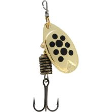 Abu Garcia Fast Attack Spinner 7 g - Gold Black Dots