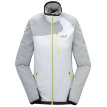 Jack Wolfskin Exhalation Softshell Women - White Rush - XL
