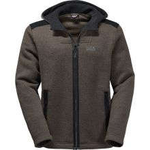Jack Wolfskin Black Castle Jacket Men Olive Brown - L