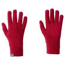 Jack Wolfskin Rib Glove Indian Red