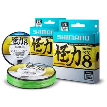 Shimano Kairiki Mysterious Power Mantis Green Meterware 0,12 mm - 7 kg