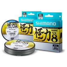 Shimano Kairiki Mysterious Power Steel Grey Meterware 0,12 mm - 7 kg
