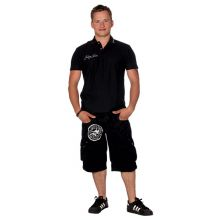 C&R Bermuda Camo Short Black - REPO - M