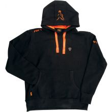 FOX Hoody Black/Orange - XXL