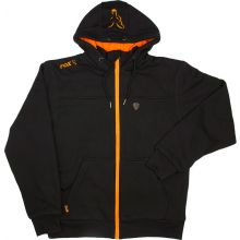 FOX Heavy Lined Hoody Black/Orange - XL