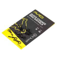 Avid Carp Quick Change Ring Swivels 11