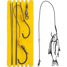 Black Cat Bouy and Boat Ghost Single Hook Rig 140 cm - 7/0