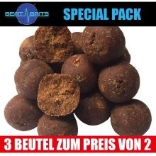 Beat Baits Special Pack Krill & Thuna Boilies 20 mm - 3x1 kg