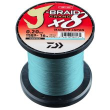 DAIWA J-Braid Grand X8 Blue Meterware 0,20 mm 16 kg