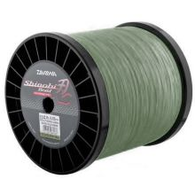 DAIWA Shinobi Braid Dunkelgrün Meterware - 0,12 mm - 5,0 kg