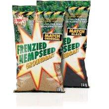 Dynamite Baits Frenzied Hempseed Match Black 1 kg