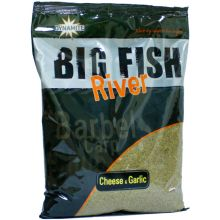 Dynamite Baits Big Fish River Groundbait Cheese & Garlic 1,8 kg