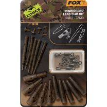 FOX Edges Camo Power Grip Lead Clip Kit Size 7