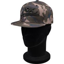 FOX Camo Flat Peak College Snapback