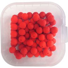 KL Angelsport Mini Boilies 9 mm Strawberry