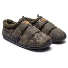 Nash Camo Deluxe Bivvy Slippers Size 10 (44)