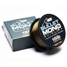 Nash Bullet Mono 1000 m 10 lb Brown