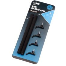 Nash Zig Screws Black