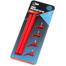 Nash Zig Screws Red