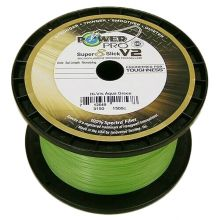 Power Pro Super 8 Slick V2 Aqua Green Meterware 0,19 mm 15 kg