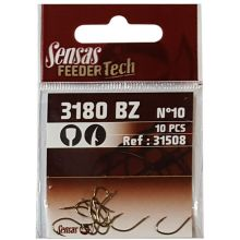 Sensas Feeder Tech 3180 Hooks - No. 10