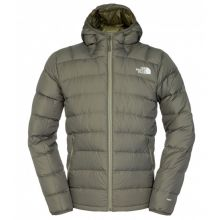 The North Face Men`s La Paz Hooded Jacket Black Ink Green - XL